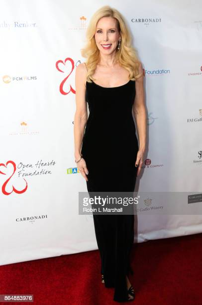 Kim Campbell attends the 2017 Open Hearts Gala at SLS Hotel on October 21 2017 in Beverly Hills California