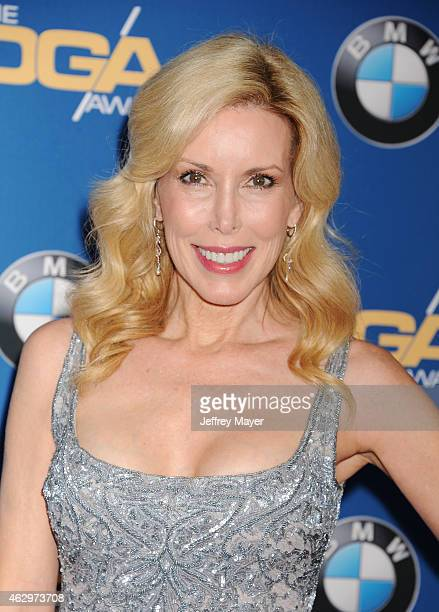 Kim Campbell attends the 67th Annual Directors Guild Of America Awards at the Hyatt Regency Century Plaza on February 7 2015 in Century City...