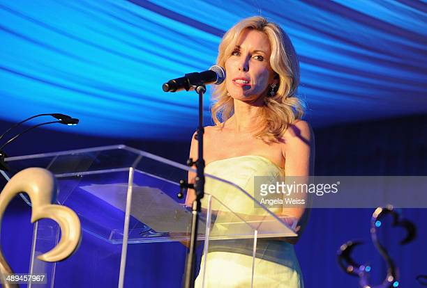 Kim Campbell attends the 'Open Hearts Foundation Gala' on May 10 2014 in Malibu California