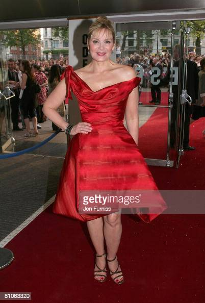 Kim Catrall attends the Sex And The City world premiere held at the Odeon Leicester Square on May 12 2008 in London England