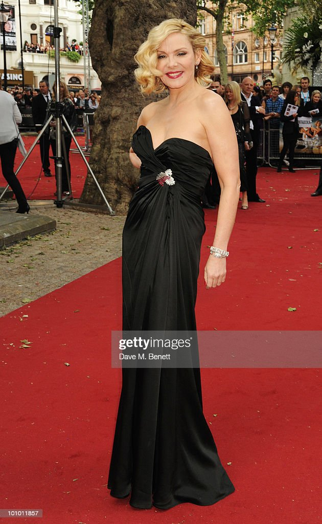 Kim Cattrall arrives at the UK film premiere of 'Sex and the City 2' at Odeon Leicester Square on May 27, 2010 in London, England.