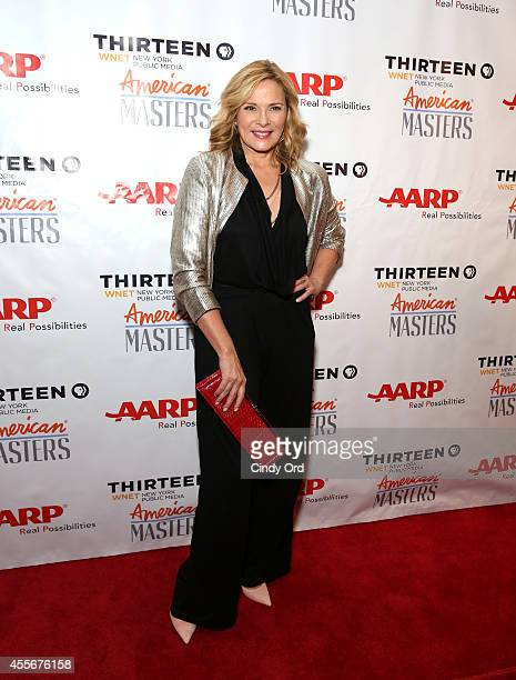 Kim Cattrall attends American Masters The Boomer List NYC Premiere on September 18 2014 in New York City