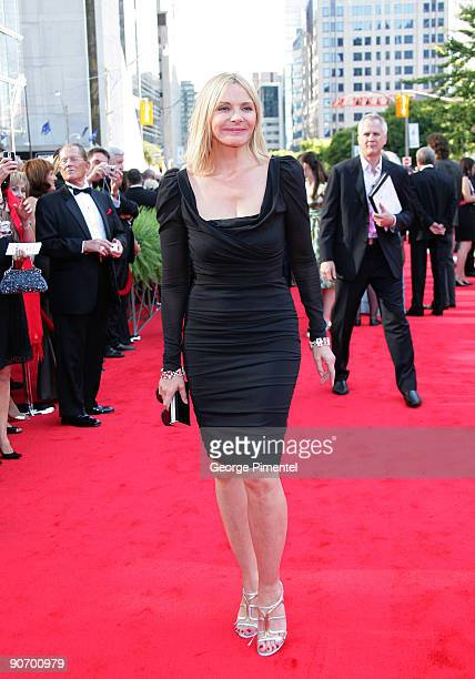 Kim Cattrall attends Canada's Walk of Fame at The Four Season Centre of the Performing Arts on September 12 2009 in Toronto Canada