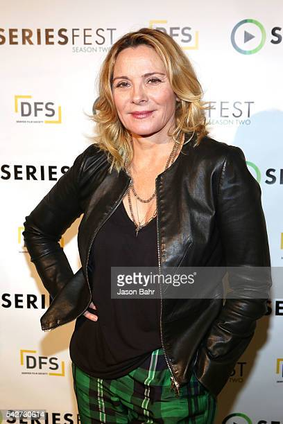 Kim Cattrall attends SeriesFest Season Two at Sie FilmCenter on June 23 2016 in Denver Colorado