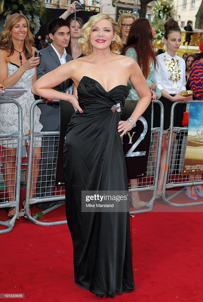 Kim Cattrall attends the UK premiere of Sex And The City 2 at Odeon Leicester Square on May 27, 2010 in London, England.