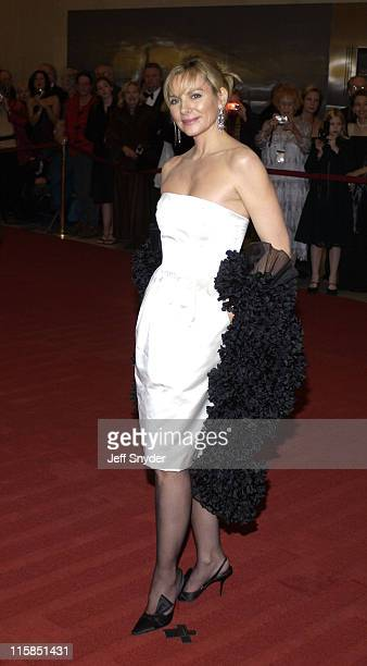 Kim Cattrall during 26th Annual Kennedy Center Honors at John F Kennedy Center for the Performing Arts in Washington DC United States