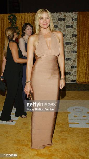 Kim Cattrall during 54th Annual Primetime Emmy Awards HBO AfterParty at Spago at Spago Restaurant in Beverly Hills California United States