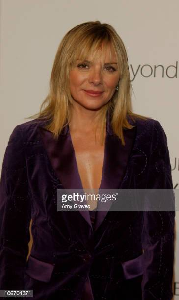 Kim Cattrall during Aerin Lauder And Carolyn Murphy Host An Exclusive Event To Celebrate The Launch Of Beyond Paradise at Private Residence in...