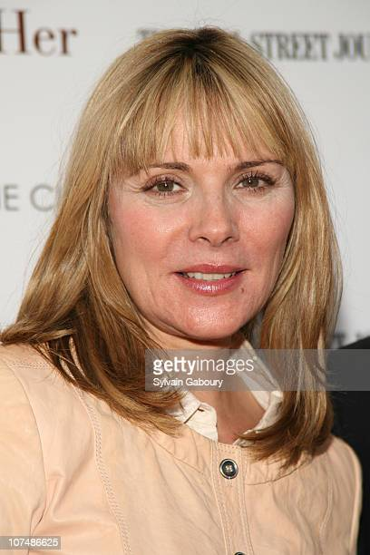 Kim Cattrall during 'Away From Her' New York Premiere Hosted by The Cinema Society and The Wall Street Journal Arrivals in New York City New York...