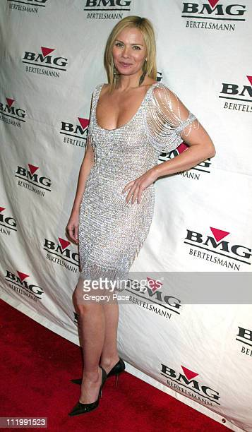 Kim Cattrall during BMG Grammy After Party Arrivals at Gotham Hall in New York NY United States