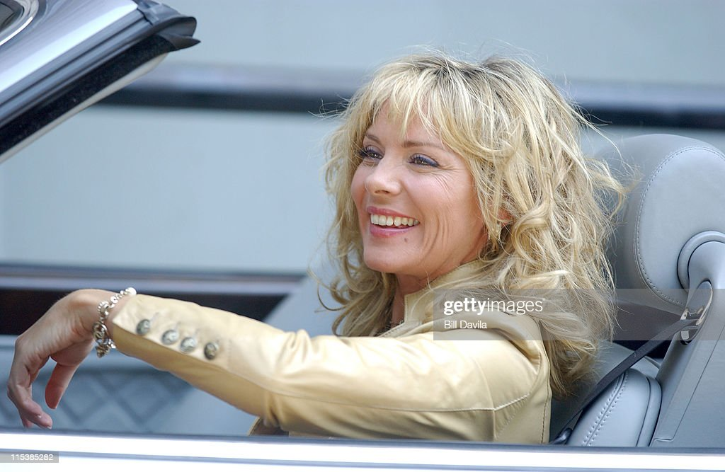 Kim Cattrall Photo Shoot For Bentley Cars