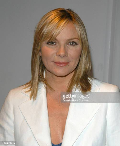 Kim Cattrall during Kim Cattrall Shops at Lighthouse International's Centennial Posh Salon at Lighthouse International in New York City New York...