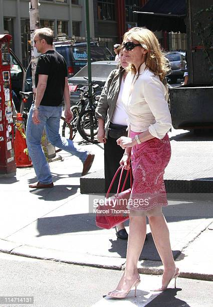 Kim Cattrall during Kim Cattrall Sighting in SOHO May 14 2007 in New York City New York United States