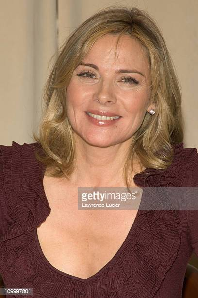 Kim Cattrall during Kim Cattrall Signs Her Book Sexual Intelligence at Barnes Noble in New York City October 26 2005 at Barnes Noble Rockefeller...