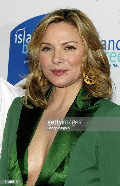 Kim Cattrall during Kim Cattrall Unveils Island Breeze by Bacardi The Original Lite Spirit at Hotel Gansevoort in New York City New York United States