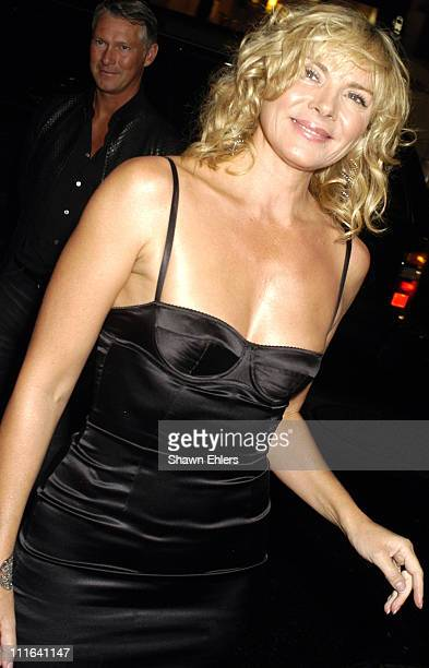 Kim Cattrall during Opening Of Jimmy Choo Flagship Store In New York at Jimmy Choo Flagship Store in New York NY United States