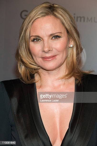 Kim Cattrall during Solomon R Guggenheim Museum's Young Collectors Council 2006 Artists Ball Sponsored By Giorgio Armani at Solomon R Guggenheim...