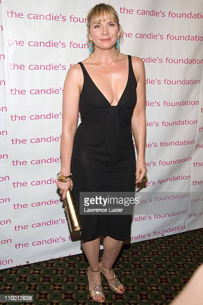 Kim Cattrall during The Candie's Foundation Presents Its 4th Annual Event To Prevent Benefit at Cipriani 42nd Street in New York City New York United...