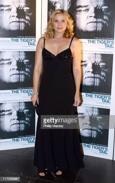 Kim Cattrall during The Tiger's Tail Dublin Premiere at Savoy Cinema Dublin Ireland