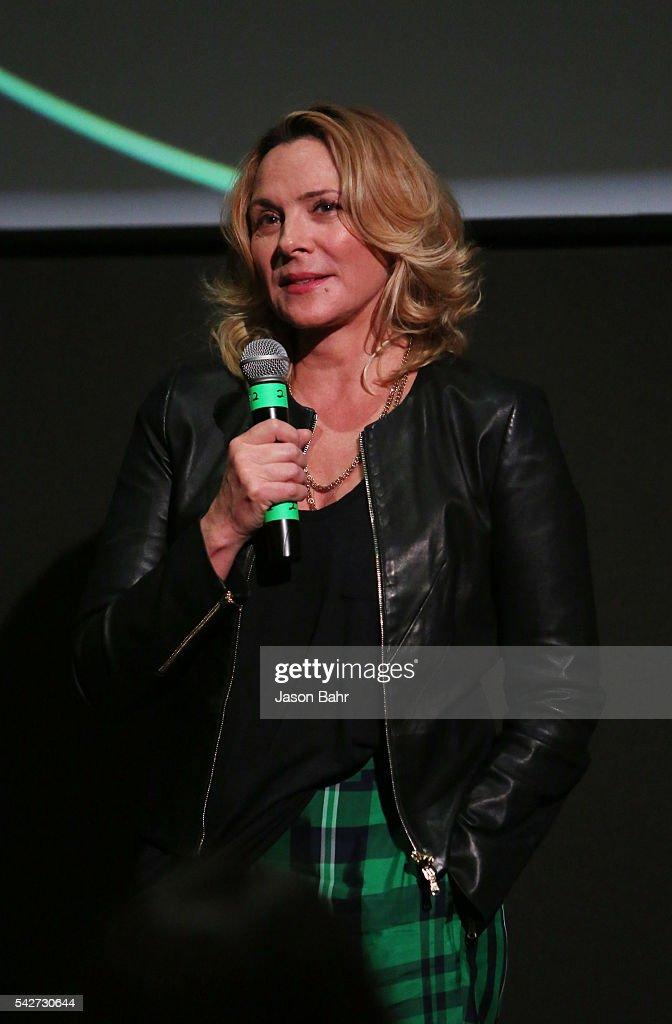 Kim Cattrall speaks at Sie FilmCenter during SeriesFest: Season Two on June 23, 2016 in Denver, Colorado.