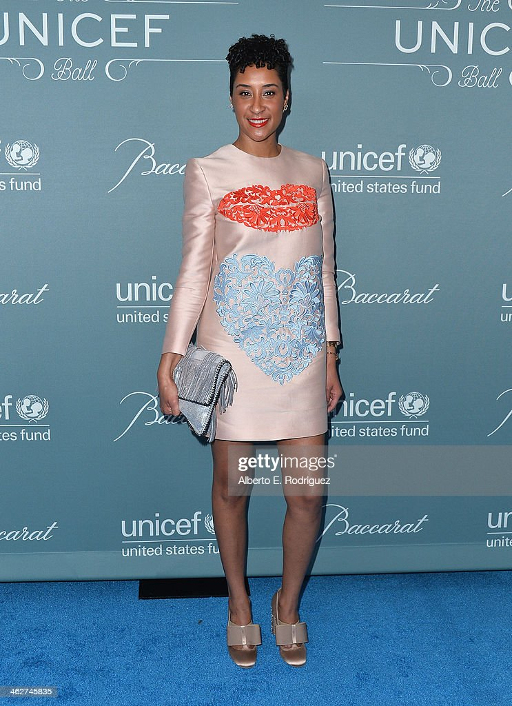 Kim Chandler arrives to the 2014 UNICEF Ball Presented by Baccarat at the Regent Beverly Wilshire Hotel on January 14, 2014 in Beverly Hills, California.