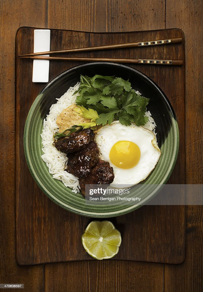 Kim Chi Pork Rice