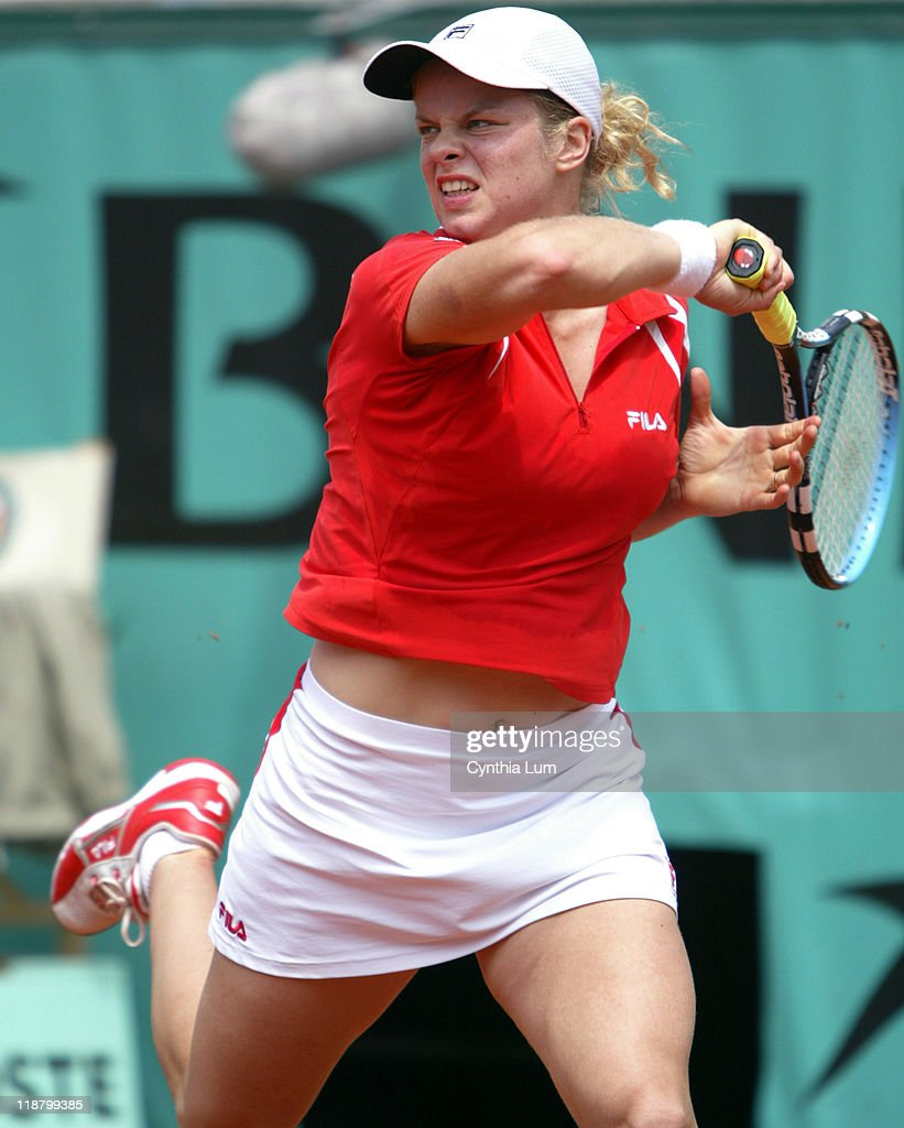 <a gi-track='captionPersonalityLinkClicked' href=/galleries/search?phrase=Kim+Clijsters&family=editorial&specificpeople=178302 ng-click='$event.stopPropagation()'>Kim Clijsters</a> beats <a gi-track='captionPersonalityLinkClicked' href=/galleries/search?phrase=Conchita+Martinez&family=editorial&specificpeople=184563 ng-click='$event.stopPropagation()'>Conchita Martinez</a> 6-1, 6-2 at the French Open Tennis Championships at the Roland Garros Stadium