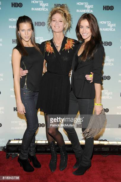 Kim Cloutier Michelle Buswell and Rekha Luther attend HBO THE CINEMA SOCIETY host a screening of 'HOW TO MAKE IT IN AMERICA' at Landmark Sunshine...