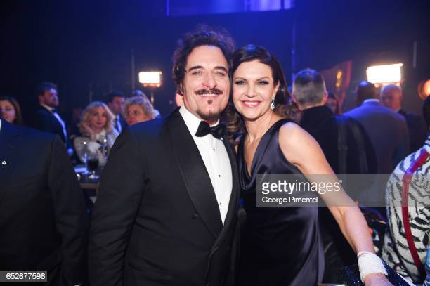 Kim Coates and Wendy Crewson at the 2017 Canadian Screen Awards at Sony Centre For Performing Arts on March 12 2017 in Toronto Canada