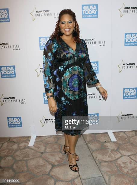 Kim Coles during 2nd Annual USA Today Hollywood Hero Award Arrivals at Beverly Hills Hotel in Beverly Hills California United States