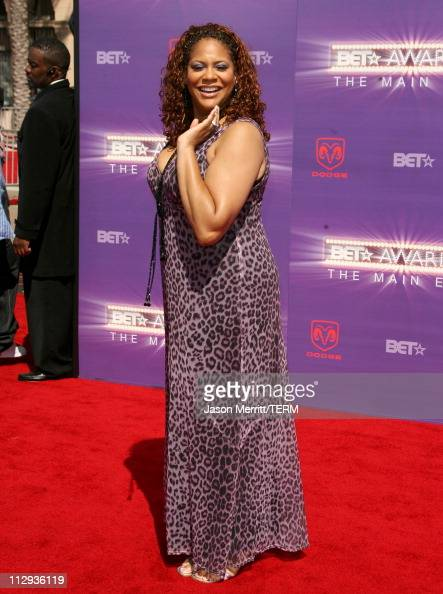 Kim Coles during BET Awards 2007 Arrivals at Shrine Auditorium in Los Angeles California United States