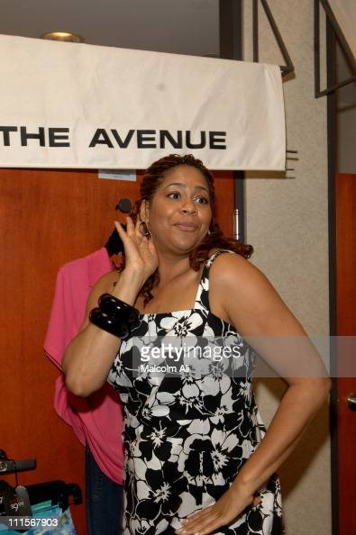 Kim Coles during Celebrity Catwalk for Charity Fashion Show Fitting at The Avenue at The Avenue in Los Angeles California United States