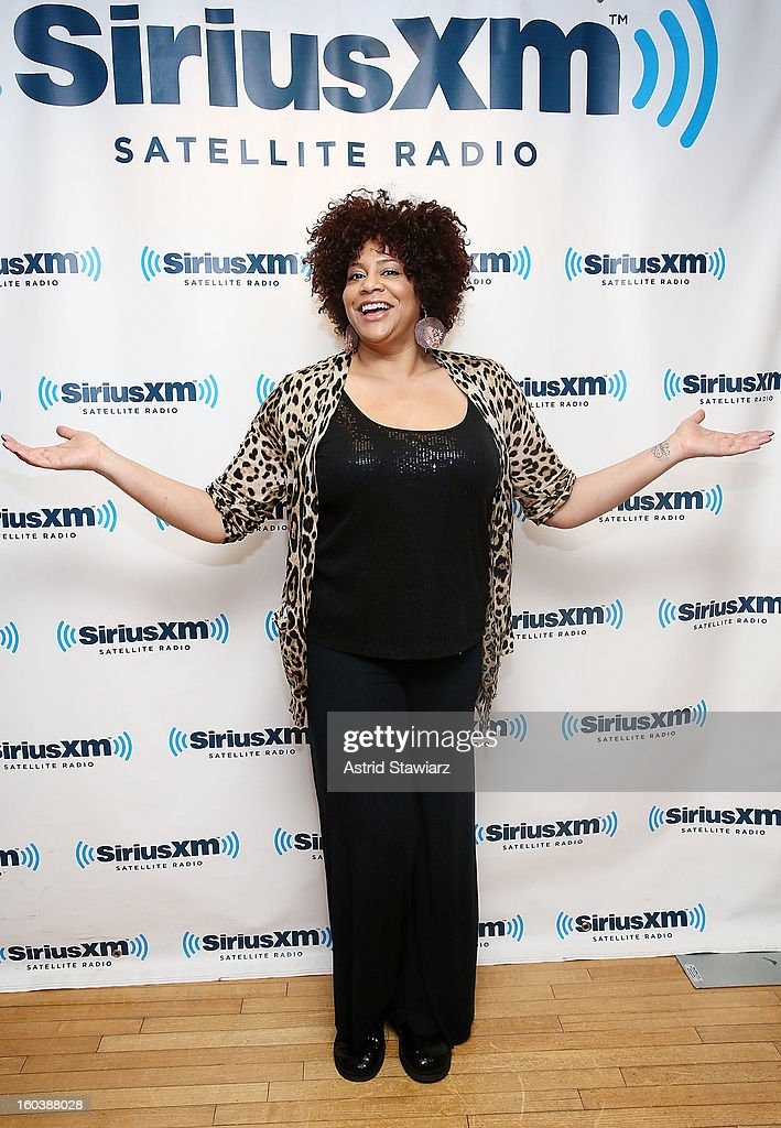 Kim Coles visits the SiriusXM Studios on January 30, 2013 in New York City.