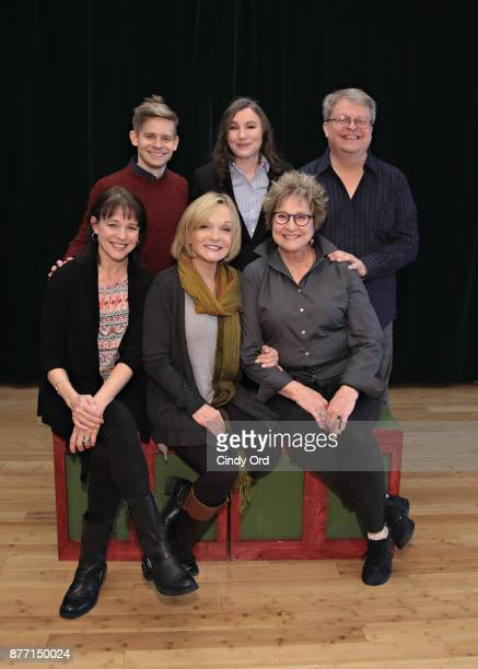Kim Crosby Cathy Rigby Pamela Myers Andrew KeenanBolger Maria Ciampi and Charles Eversole participate in 'Kris Kringle The Musical' preview...