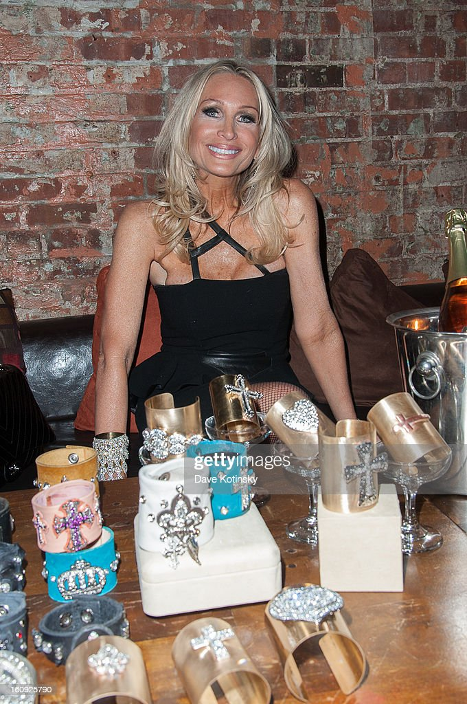 Kim DePaola attends Cuffs By Kim D Party during Fall 2013 Fashion Week at Lair on February 7, 2013 in New York City.
