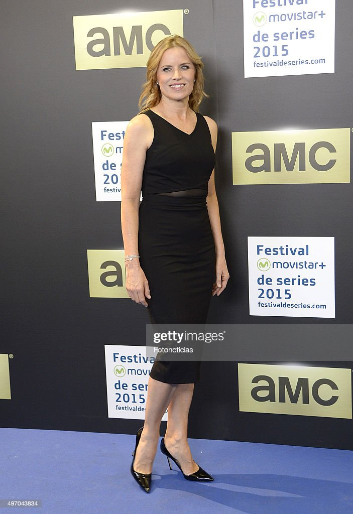 Kim Dickens Attends 'Fear The Walking Dead' Madrid Photocall