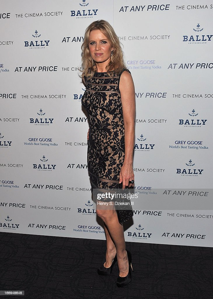 Kim Dickens attends the Cinema Society & Bally screening of Sony Pictures Classics' 'At Any Price' at Landmark's Sunshine Cinema on April 18, 2013 in New York City.