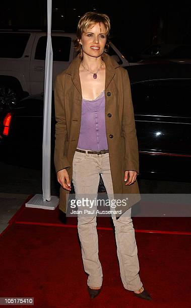 Kim Dickens during AFI Film Festival World Premiere of 'House Of Sand And Fog' Arrivals at Cinerama Dome at the Arclight in Hollywood California...