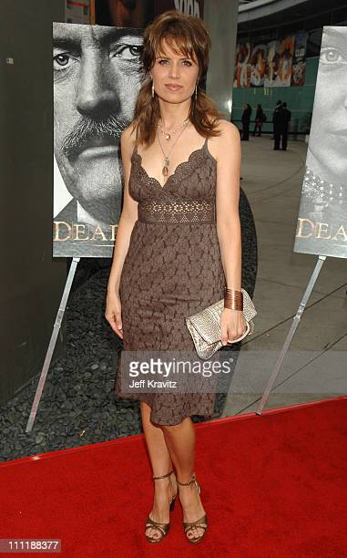 Kim Dickens during 'Deadwood' Season Premiere Red Carpet at Cinerama Dome in Hollywood California United States