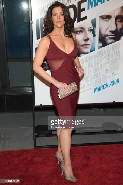 Kim Director during Inside Man New York City Premiere at Ziegfield Theater in New York City New York United States
