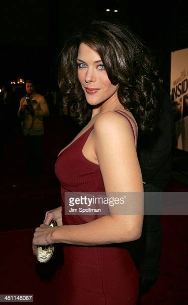 Kim Director during Inside Man New York City Premiere Outside Arrivals at Ziegfeld Theater in New York City New York United States