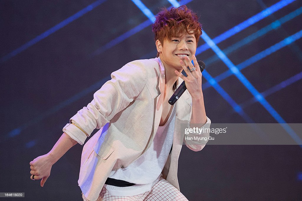 Kim Dong-Jun (Dongjun) of South Korean boy band