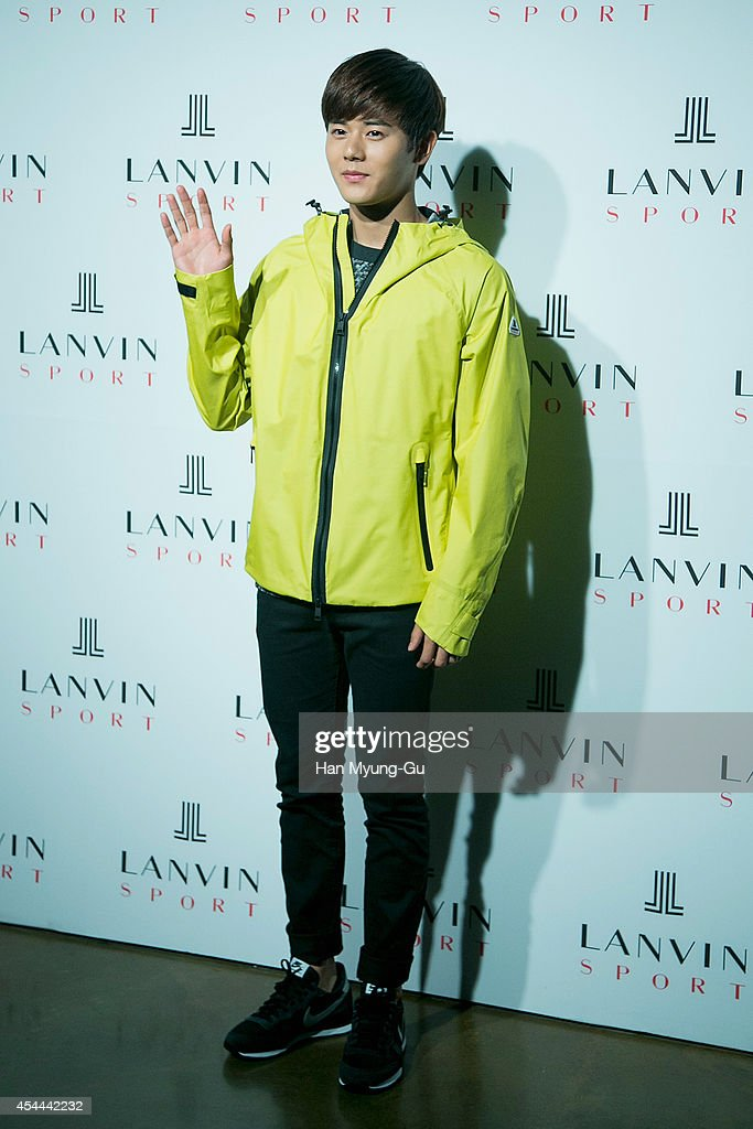 A Five (Children Of Empire) attends 'Lanvin Sport' FW 2014 Grand Open on August 29, 2014 in Seoul, South Korea.