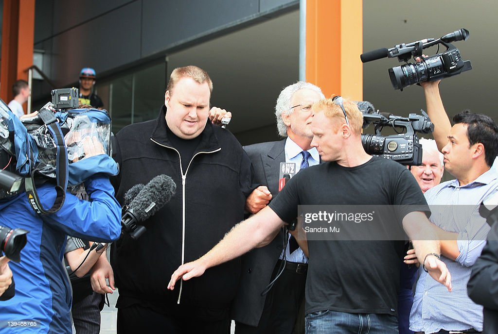MegaUpload Founder Kim Dotcom Released On Bail