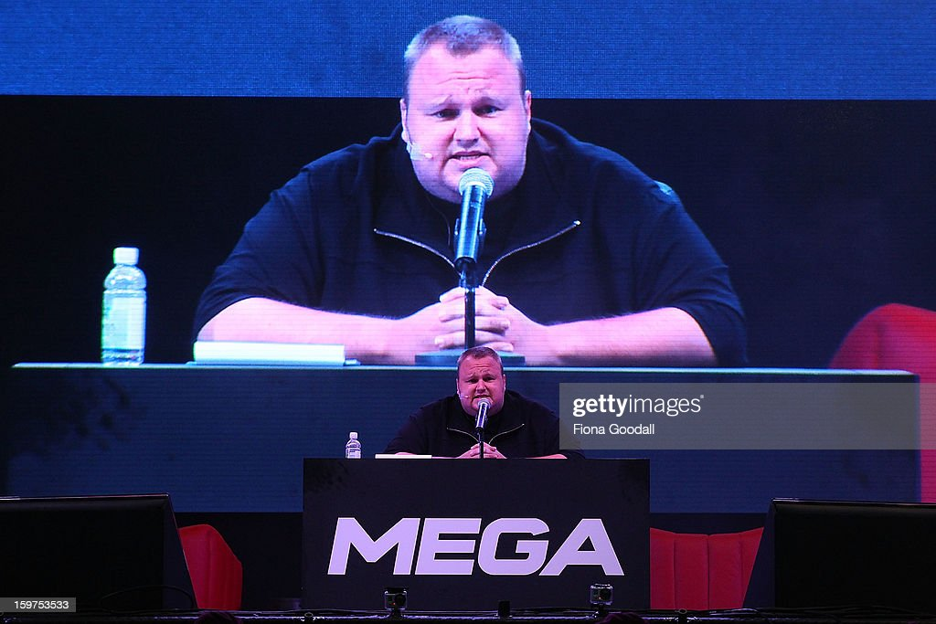 Kim DotCom Launches New File Sharing Service