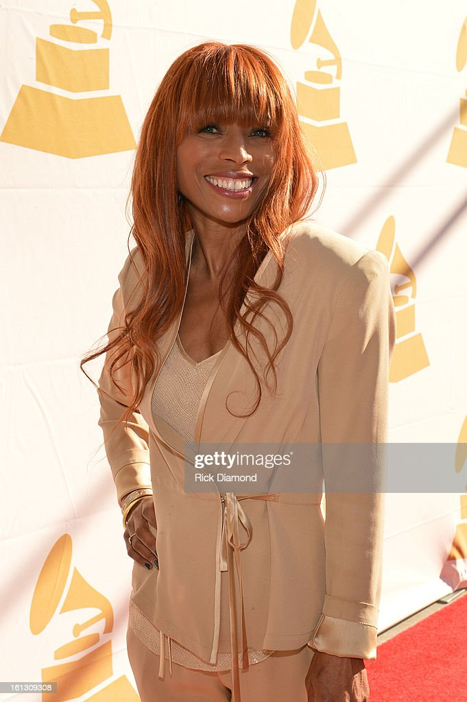 Kim English (Melvin Franklin's widow) attends the Special Merit Awards Ceremony during the 55th Annual GRAMMY Awards at the Wilshire Ebell Theater on February 9, 2013 in Los Angeles, California.