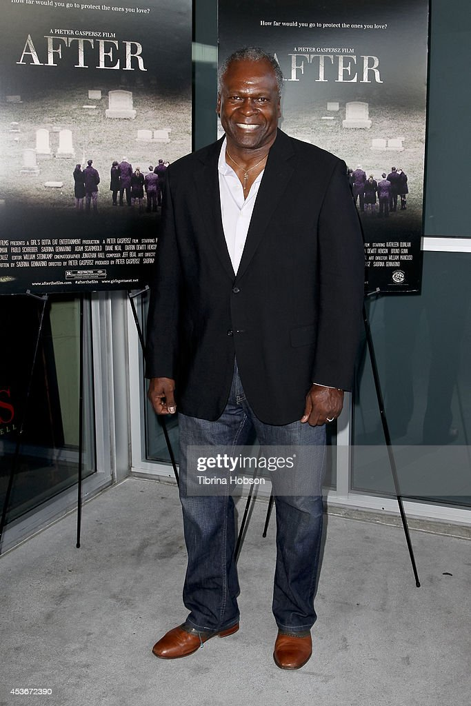 Kim Estes attends the premiere of 'After' at Laemmle NoHo 7 on August 15, 2014 in North Hollywood, California.