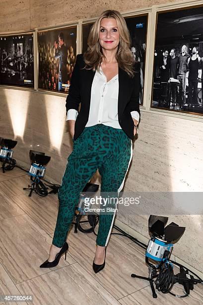 Kim Fischer attends the 'Jan Josef Liefers Soundtrack meines Lebens' Premiere at Astor Film Lounge on October 15 2014 in Berlin Germany