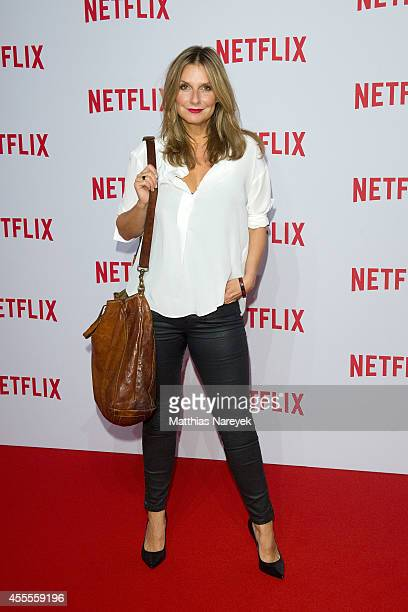 Kim Fischer attends the Netflix pre launch party at Komische Oper on September 16 2014 in Berlin Germany