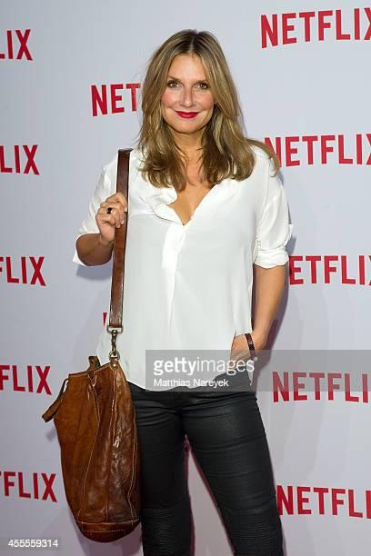 Kim Fischer attends the Netflix pre launch party at Komische Oper on September 16 2014 in Berlin Germany